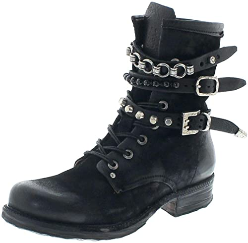 FB Fashion Boots A.S.98 Damen Schnürstiefel 520278 Nero