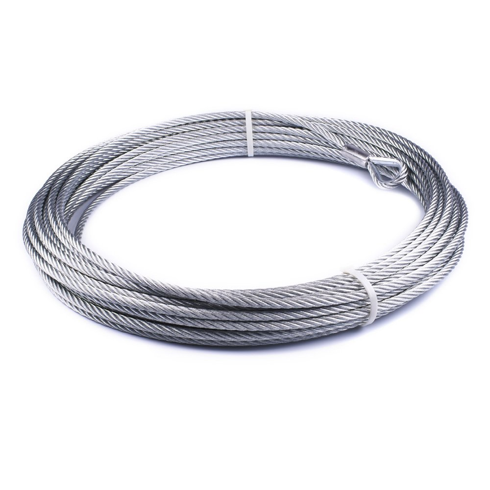 WARN 38314 Wire Rope x 100 ft. 5//16 in