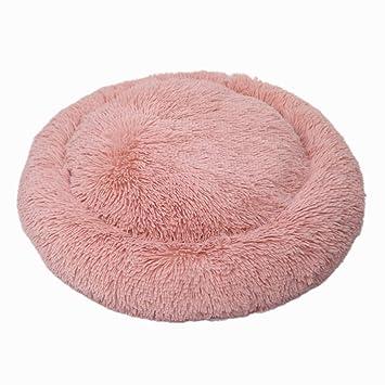 Cupcinu Nido Mascota Redondo Nido de Gatos de Felpa Cama de Perro pequeño Cama de Gato Suave y cómoda Size 50cm (Rosa Oscuro): Amazon.es: Productos para ...