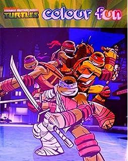 tmnt teenage mutant ninja turtles colour fun colouring book - Teenage Mutant Ninja Turtles Coloring Book