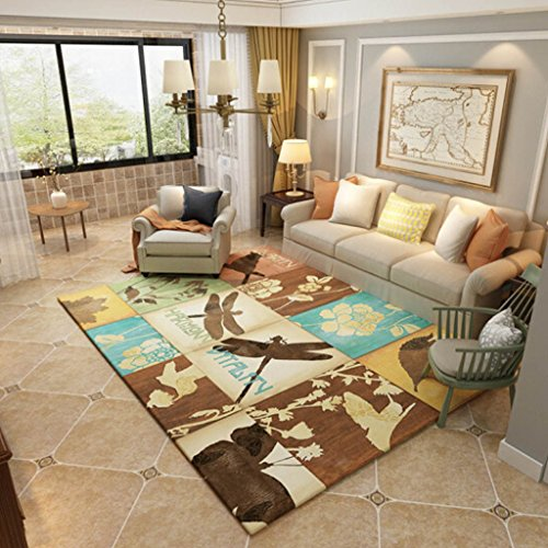 Yagnxiaoyu Modern Minimalist Rugs Nordic American Country Living Room Rugs Coffee Table Rugs Bedroom Bedding Bedside Carpet Mats   Color   B   Size   120160Cm