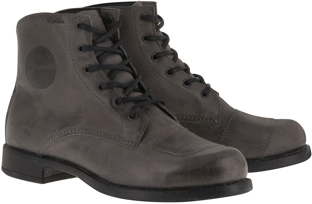 Alpinestars Twin Drystar Mens Street Motorcycle Shoes Gray 11.5