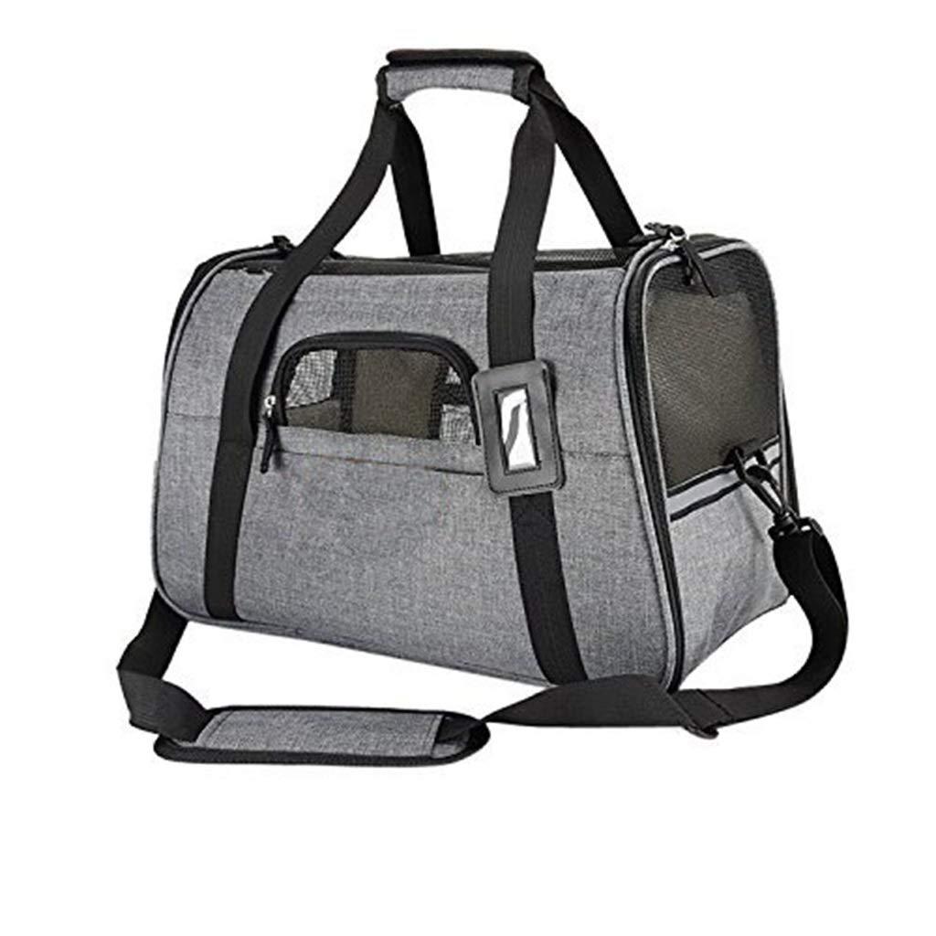 PET BAG Out Travel Portable Breathable Shoulder Diagonal Diagonal Portable Sanding Cloth