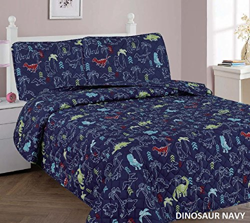 navy and green quilt - 6