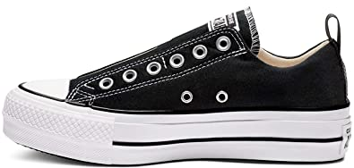 Converse Damen CTAS Lift Low Sneaker Schwarz: Amazon.de: Schuhe ...