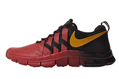 various colors 07033 53b31 NIKE Men s Free Trainer 5.0 LE, GYM RED BLACK METALLIC GOLD, 9