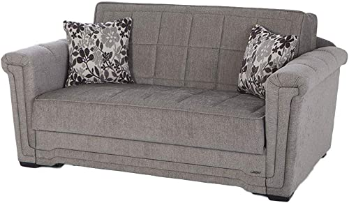 ISTIKBAL Multifunctional Furniture Living Room Sofa Bed Victoria Collection Valencia Grey