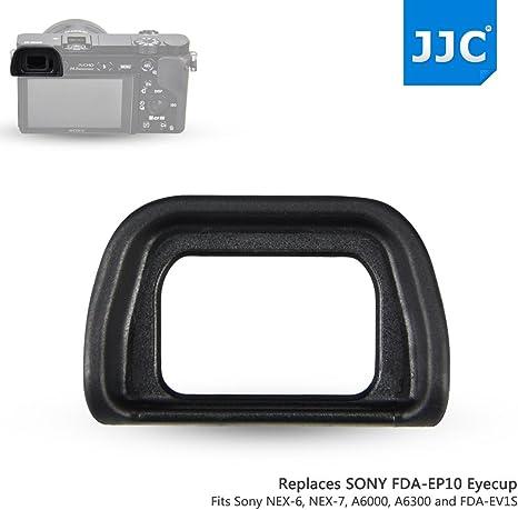 NEX-7 a6300 y a6000 C/ámaras y al Visor Electr/ónico FDA-EV1S Reemplazo de Sony FDA-EP10 JJC ES-EP10 Visor Ocular Eyecup para SONY NEX-6