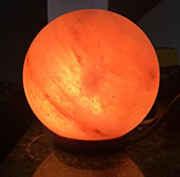 Salt Lamps Yes Or No : Amazon.com: Crystal Allies Gallery: CA SLS-GLOBE-12cm - COMBO Natural Himalayan Globe Sphere ...