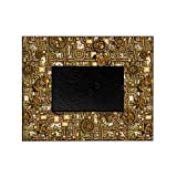 CafePress - Steampunk Cogs&Pipes-Brass - Decorative 8x10 Picture Frame
