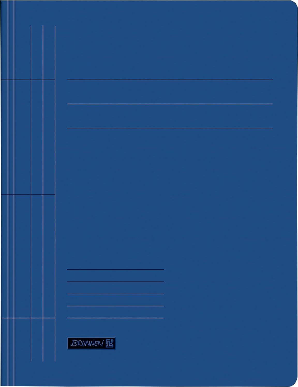 Fontana 102010230 Cartelline Pro Natura, A4, in cartone riciclato Blu Baier & Schneider