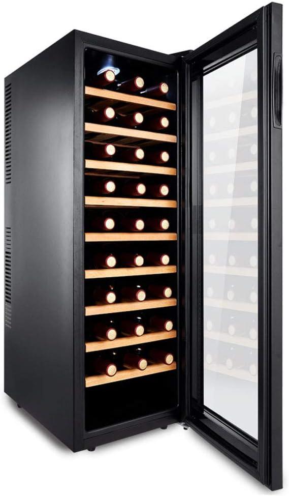 FREIHE Led Enfriador De Vino, Bebidas Nevera 30 Capacidad De La ...