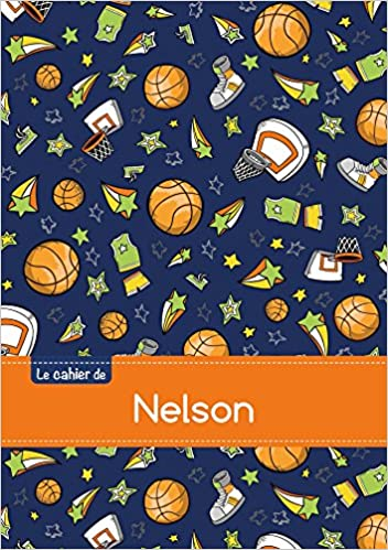 CAHIER NELSON BLANC,96P,A5 BASKETBALL pdf, epub ebook