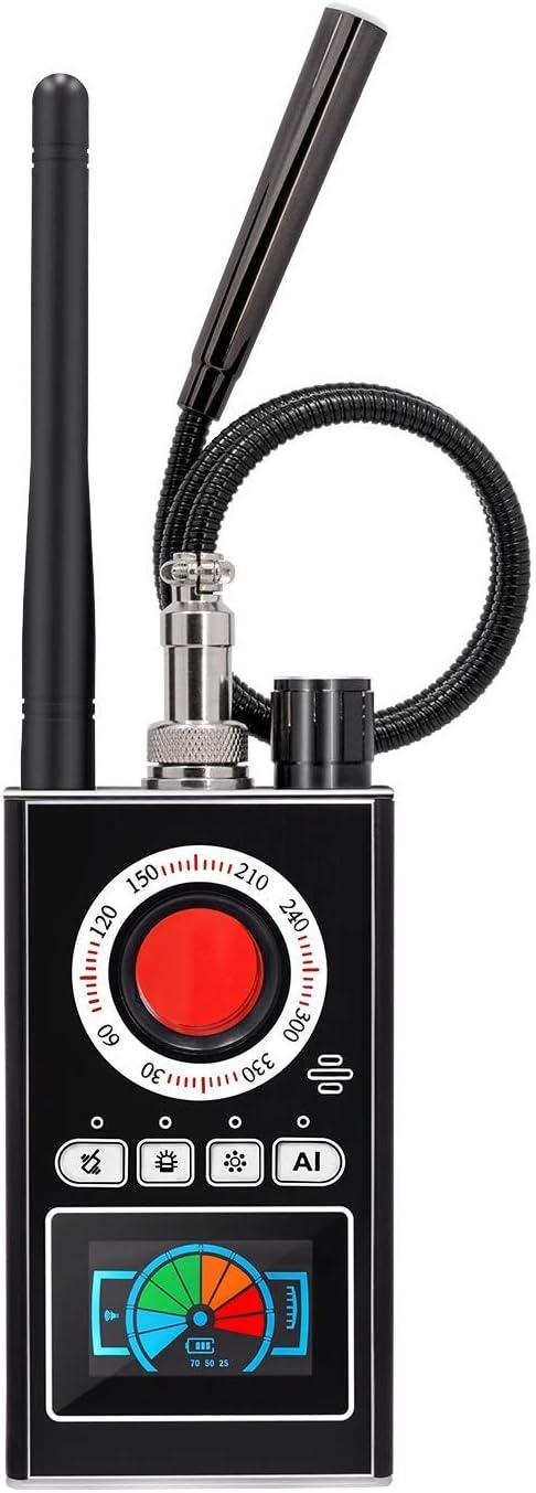 Anti Spy RF Detector Bug Detector Camera Finder RF Scanner for GPS Tracker GSM Listening Device Hidden Camera/…