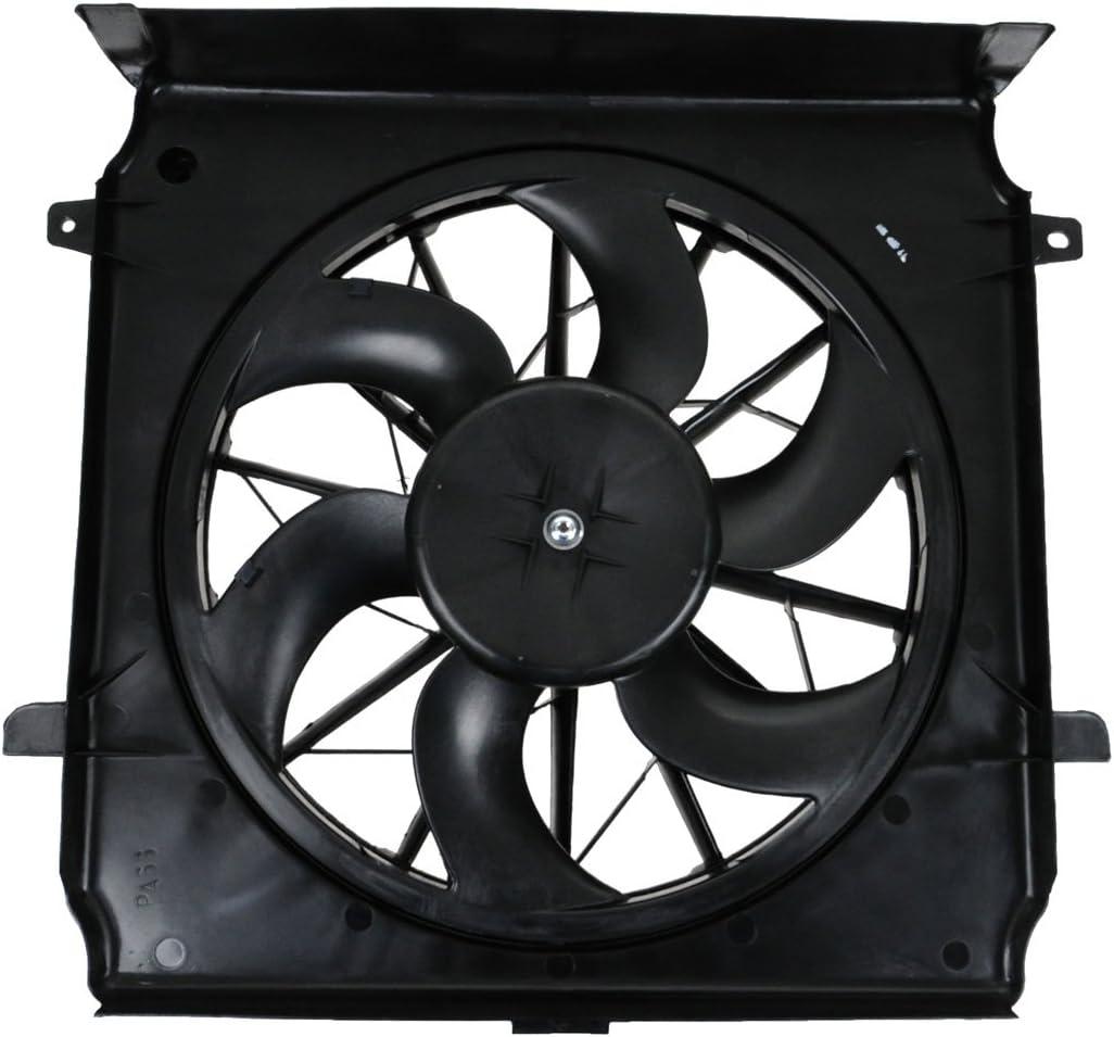 Dual Radiator AC Cooling Fan w// Motor for Toyota Camry Solara 2.4L