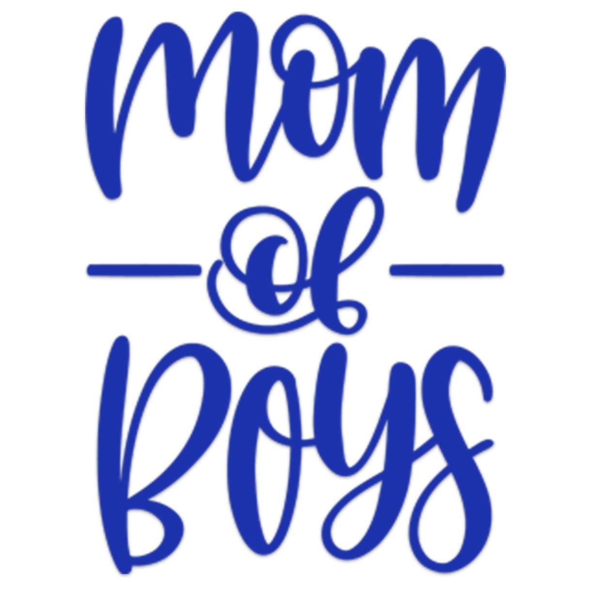Car Decal Mom of Boys Vinyl Sticker Decal Laptop Decal