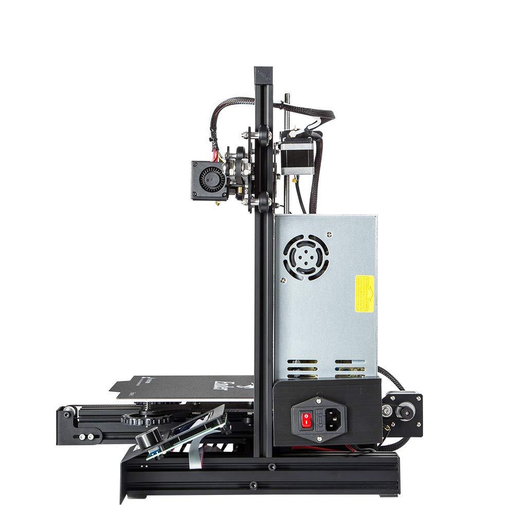 Ender 3 Creality Ender 3D-Druckerkit mit Upgrade Cmagnet Build Surface Plate und UL-zertifiziertem Mean Well-Netzteil