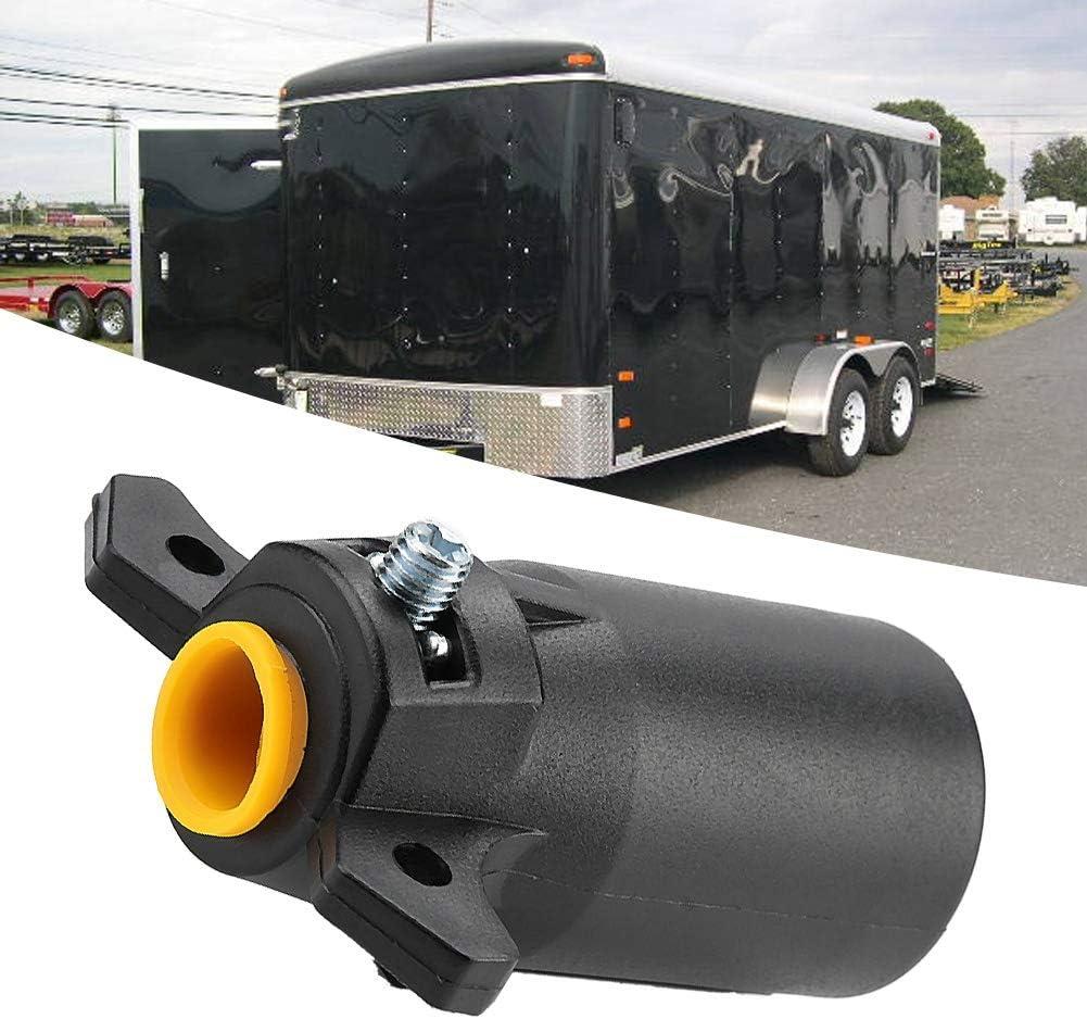 7 pin 12V Trailer gancio di traino gancio di traino adattatore T24505 Collegare camion e alimentatore Adattatore spina