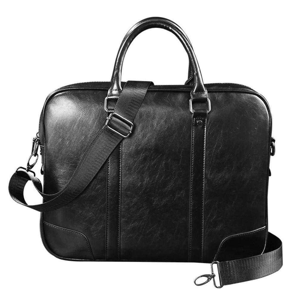 f2b8bf21abcc Amazon.com: cjc Men's Tote Bag Leather Men's Shoulder Bag Business ...