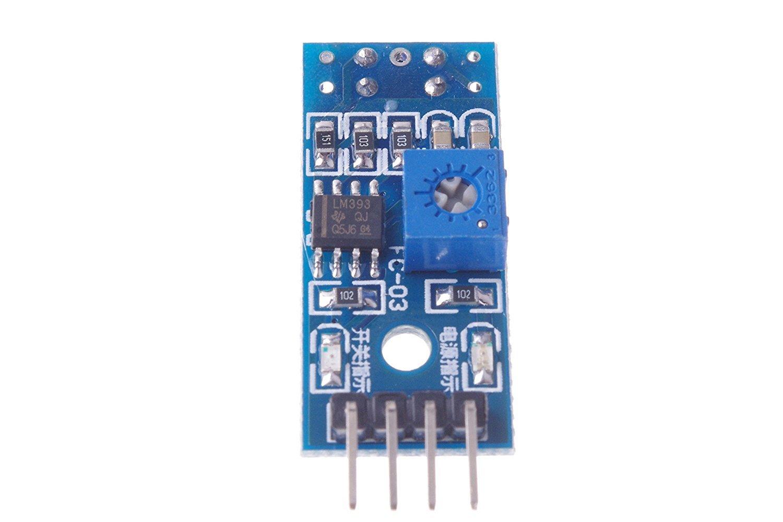 Demarkt TCRT5000 Tracking-Sensor Tracking-Modul Infrarot-Reflexionslicht elektrischer Schalter