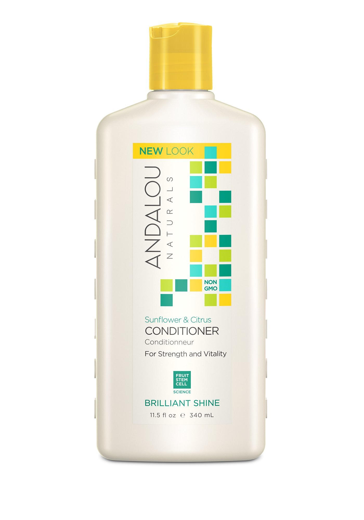 Andalou Naturals Sunflower & Citrus Brilliant Shine Conditioner, 11.5 oz, Helps Give Hair Smooth Shine & De-Frizz Split Ends by Andalou Naturals (Image #4)