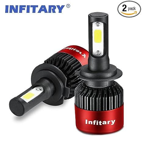 Amazon.com: INFITARIA - Bombillas LED para faros delanteros ...