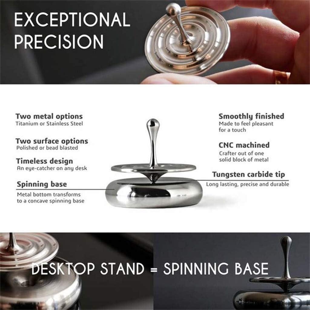 WINBST Toupie Spinning Top Toupie Spinning Cuivre Pure Con/çu pour l/éternit/é et Une Rotation in/égal/ée Cadeau Unique