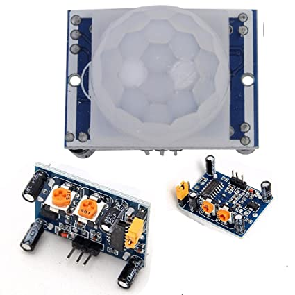 preptec piroeléctrico infrarrojo PIR Motion Sensor Detector módulo HC-SR501 Arduino