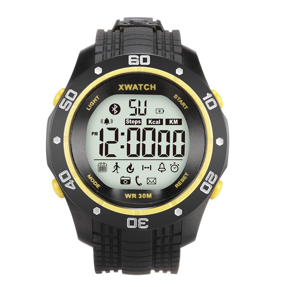 kivors deportes reloj inteligente ios android resistente al agua IP67 Bluetooth 4.0 SmartWatch: Amazon.es: Relojes