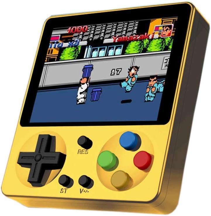 Amazon.es: King Bomb 333 Juegos incorporados. Consola de Juegos portátil con Pantalla LCD de 3.0 Pulgadas Batería de Litio Recargable de 800 mAh conectada al televisor (Incluido Cable AV) (Amarillo)