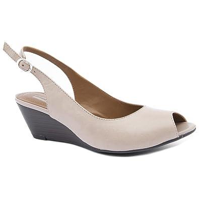 Womens Shoes Clarks Brielle April Nude