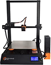 Eryone 3D Printer Thinker, Super Quiet, Magnetic And Flexible PEI Build surface, Dual Mosfet Tube Heated Bed, 300 * 300 * 400mm, Dual Z-axis Printed Scales, Compatible with Auto Leveling Sensor