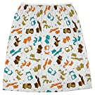 Planet Wise Reusable Diaper Pail Liner, Fox Trot