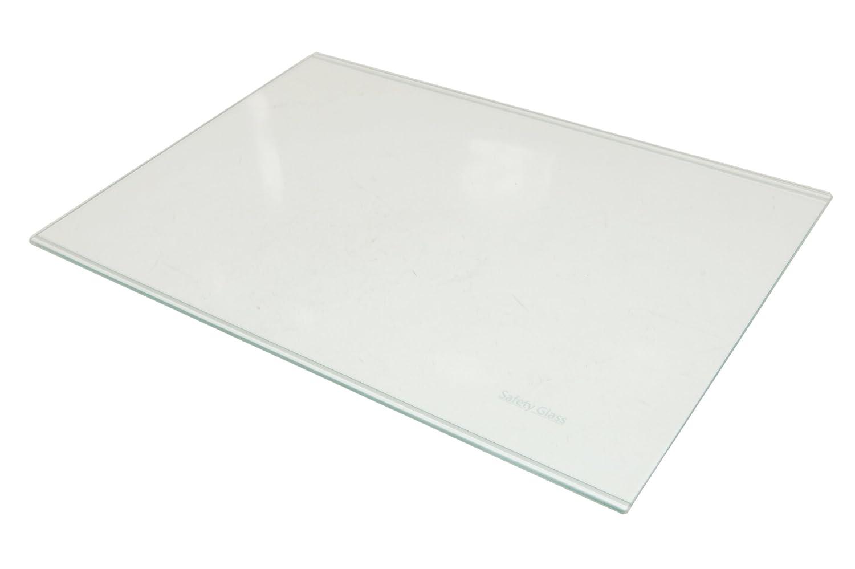 Beko Flavel Fridge Freezer Glass Shelf Full Assembly. Genuine part number 4146140600