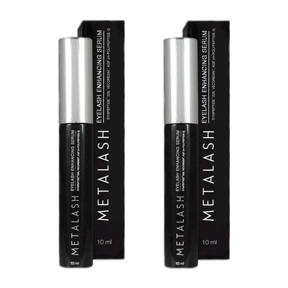 a07ae26d19c Amazon.com : Metalash 2pack - Best Eyelash Growth Serum - Best Eyelash  Enhancer - Lash Strengthener - Get Longer Lashes Now : Mascara : Beauty