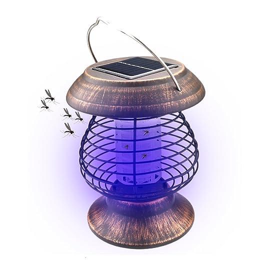 A-SZCXTOP Lampe anti-moustique solaire Killer Intérieur et ...