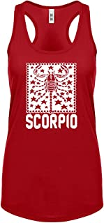 Indica Plateau Scorpio Zodiac Astrology Ideale Scoop senza maniche per le donne