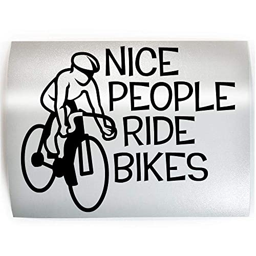 CYCLE Cyclist Bicycle Street Biking Vinyl Decal Sticker D PICK COLOR /& SIZE