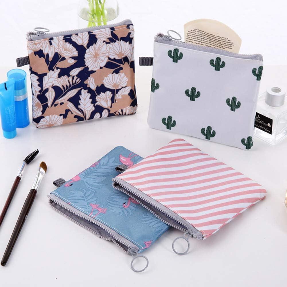 Sacs Portable Sac Serviette Hygi/énique Sac De Rangement en Toile Serviettes Hygi/éniques Trousse De Couture Bourse De Carte De Cr/édit Coin Titulaire