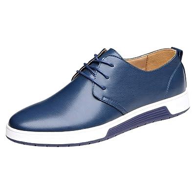Eu39 Eu46 Odrd Schuhe Mode Manner Casual Leder Flache Schuhe