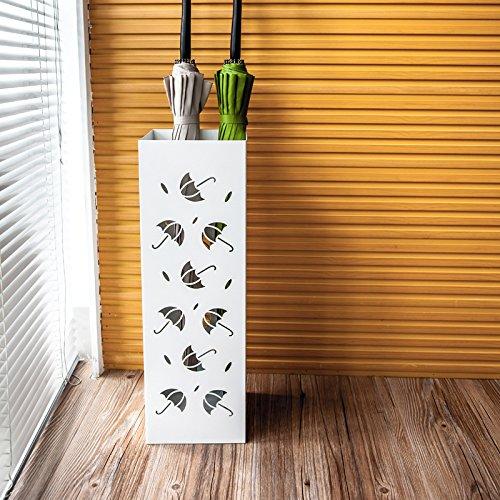 Do4U Metal Umbrella Stand Rack Free Standing Cutout Umbrella Design Entryway Umbrella Holder Storage Rack (Umbrella (Cut Out Design Metal)