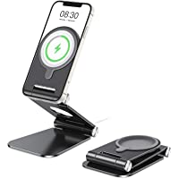 OMOTON Stojak na ładowarkę, składany aluminiowy stojak na telefon, do iPhone 12/12 Pro/12 Mini/12, z wyłączeniem…