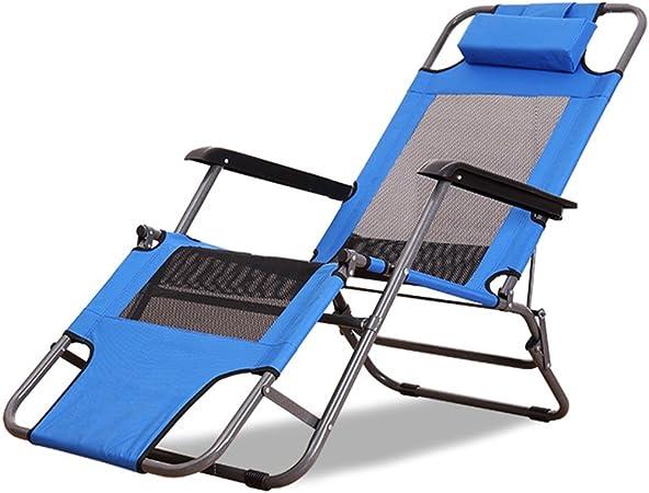Blaue Liegestuhl Faltbar Fur Buro Siesta Bett Multifunktional