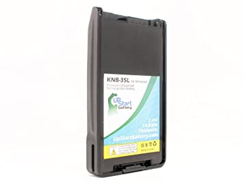 Replacement Kenwood TK-2360 Battery - For Kenwood KNB-35L Two-Way Radio