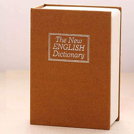 BOOKSAFEBOX Caja Fuerte En Forma De Libro Caja Fuerte De Libros ...