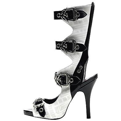 Demonia Defining Alternative Footware Peeptoe Sling Sandaletten Sandaletten Sling ... f3050f