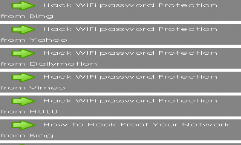 Amazon com: Hack WiFi password Protection: Appstore for Android