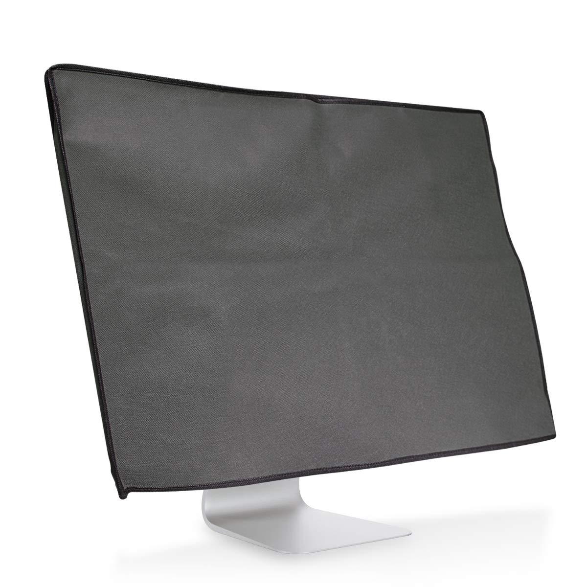 kwmobile Funda para monitor Monitor de 20-22' - Cubierta [anti polvo] para pantalla - Protector con diseñ o Don't touch my Screen 43617.01