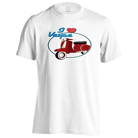 Me encanta vespa Novedad Camiseta de los hombres r99m: Amazon.es: Ropa y accesorios
