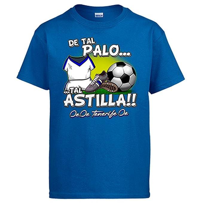Camiseta de tal palo tal astilla Tenerife fútbol - Azul Royal, S